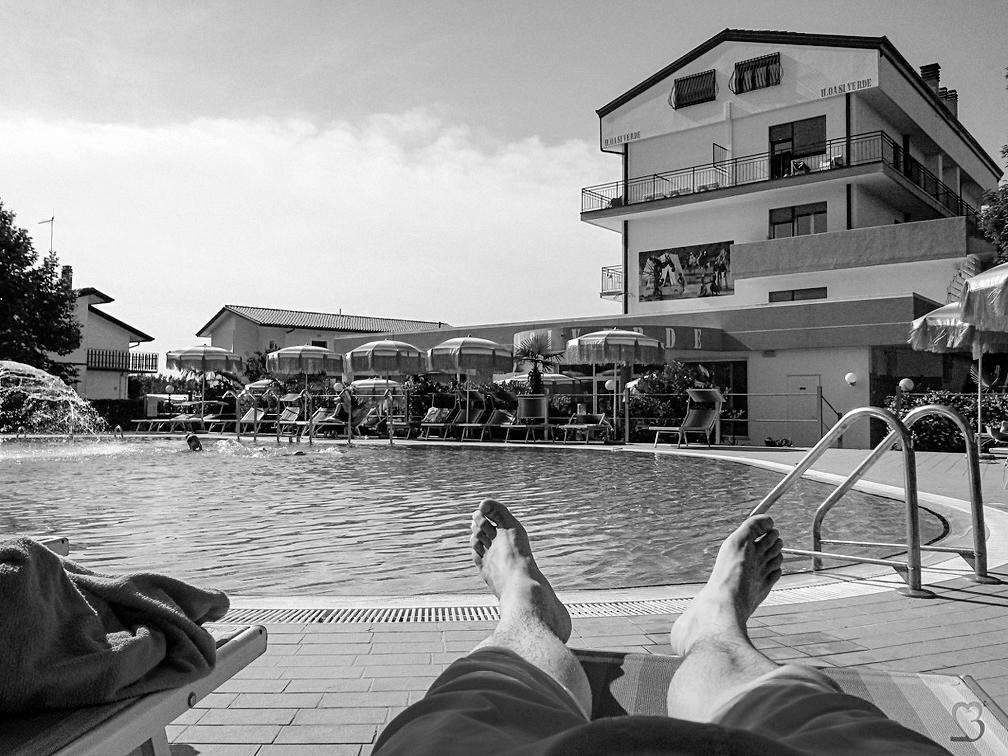 Pool at the Hotel in Lido Di Jesolo